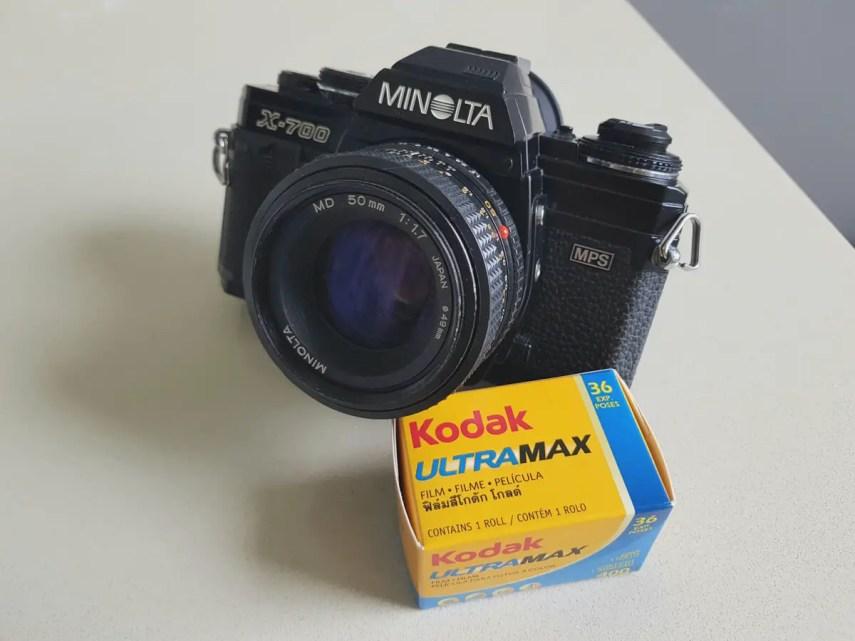 My Minolta X-700 and a Minolta MD 50mm f/1.7, Gerry Montoya