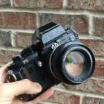 My Nikon F3 and Nikkor 50mm f/1.4 AI lens, Lucas Dul