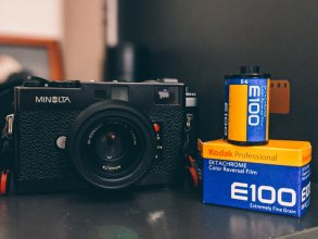 My Minolta CLE + Rokkor-M 40mm f/2 and Kodak Ektachrome E100, Oleg Popelyaev
