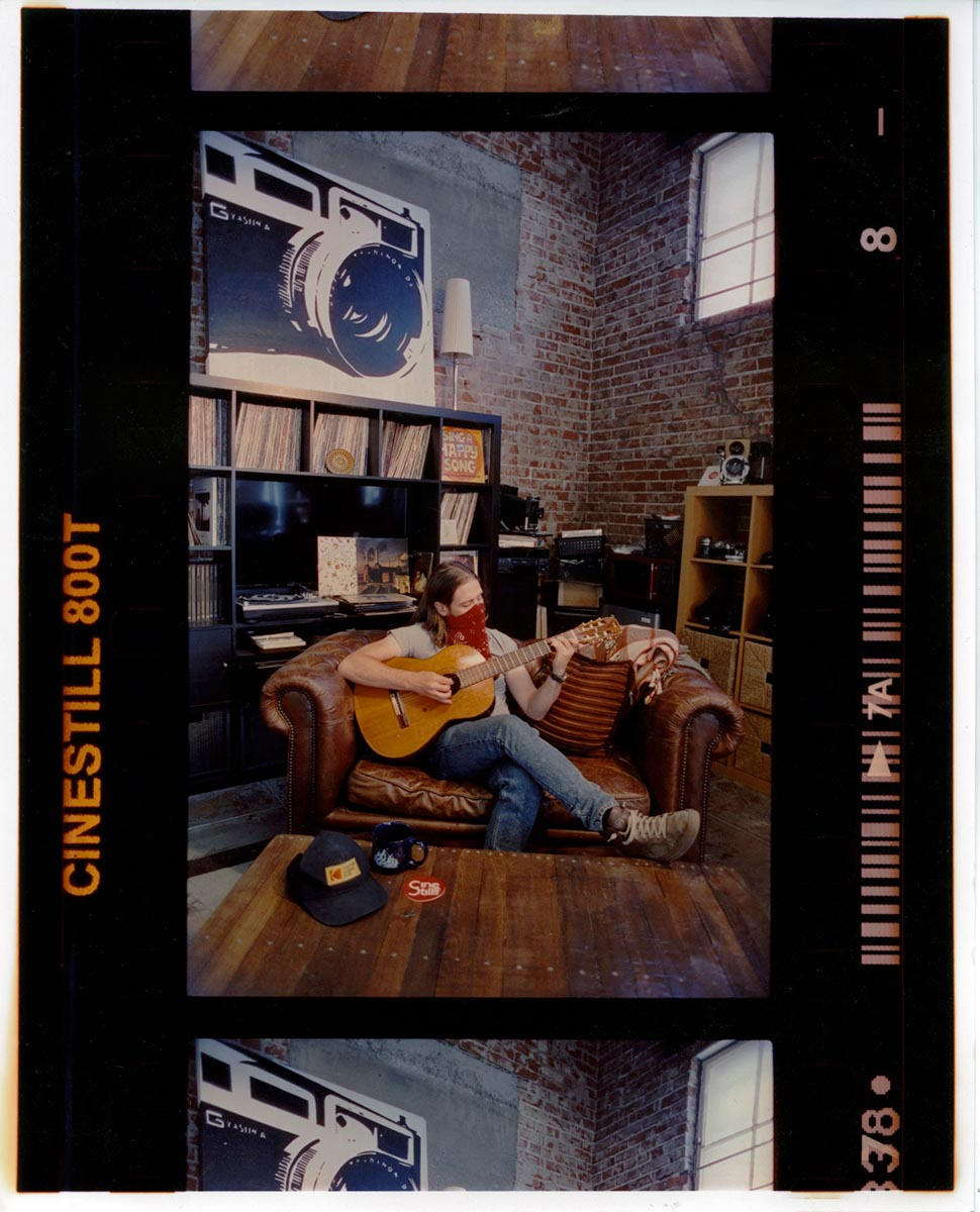 Darkroom print - Cs41 processed CineStill 800T, 8 second RA-4 print, with zero color correction.