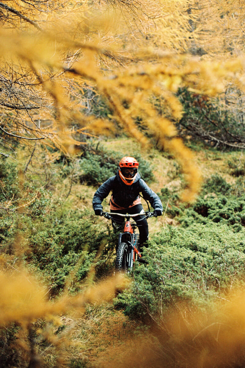 5 Frames... Of Mountain biking in the Valtellinesi Alps on Kodak Portra 160 (Canon A-1 and Canon FD 50mm f/1.8) - by Ulysse Daessle