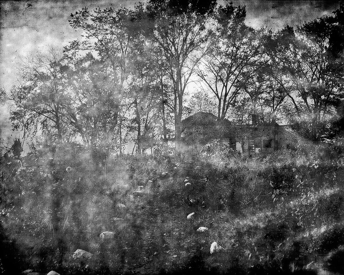 Shot 100 years ago: Developing Kodak Premo-Pack 4x5 film from a Rochester Premo B camera ~ by Salvador Busquets