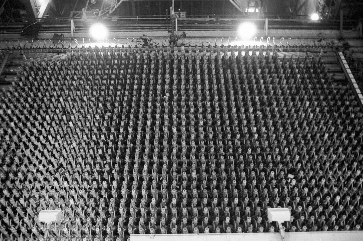 5 Frames... Of Idaho's EBR-I nuclear reactor on Kodak Tri-X 400 (35mm Format : EI 1600 : Nikon n90s + Nikon 35-70mm f/2.8 AI-S) - by Dave Christensen