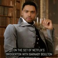 On the set of Netflix's Bridgerton with Barnaby Boulton and Kodak film