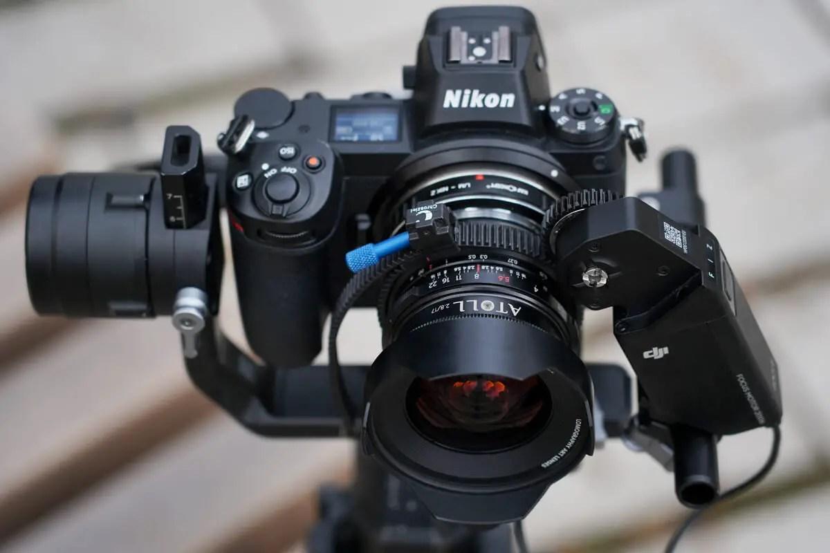 Lomography Atoll Ultra-Wide 2.8/17 Art Lens - Nikon Z + gimball