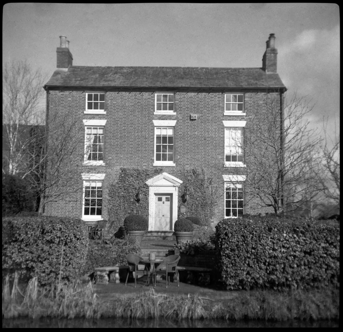 Staffordshire Farmhouse - Fomapan 200 Creative, The Durst Sei Sei / Durst 66