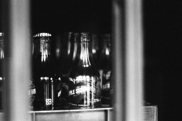 Ilford FP4+ shot at ISO6400 on 35mm