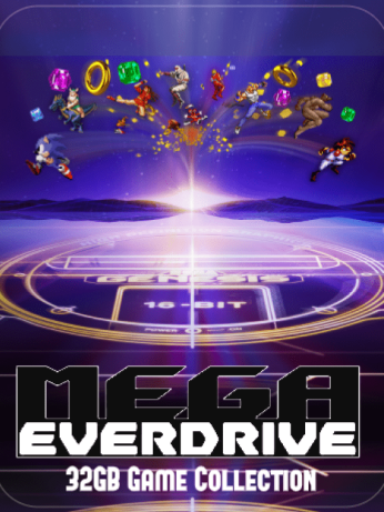 Mega EverDrive Full Genesis, Master System Game Collection on MicroSD