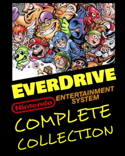 N8 Everdrive NES Nintendo Full Game ROM Collection on MicroSD
