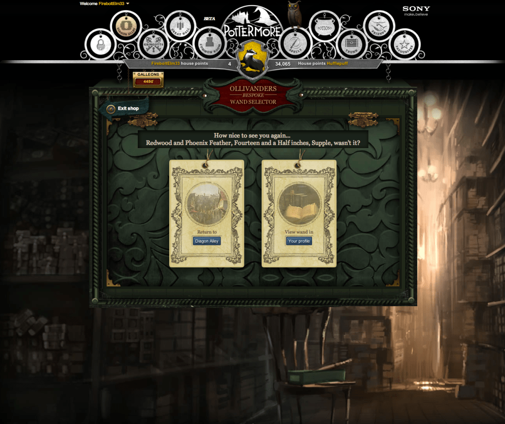 Pottermore (Beta): A Full Review (5/6)