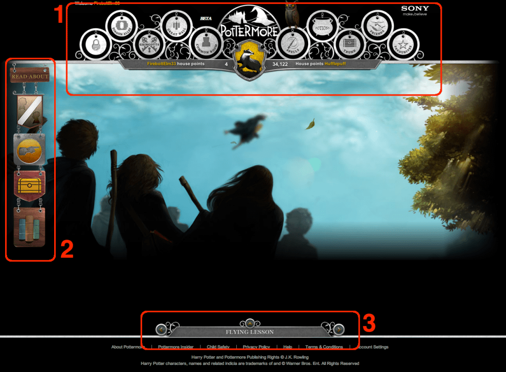 Pottermore (Beta): A Full Review (2/6)