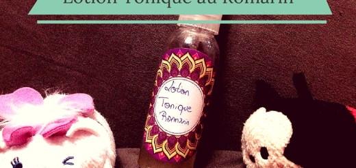 DIY Tonic au romarin