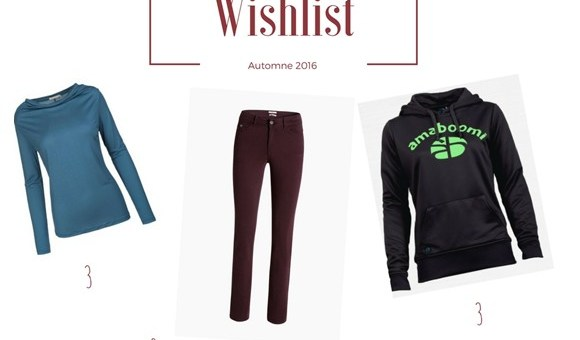 wishlist automnale