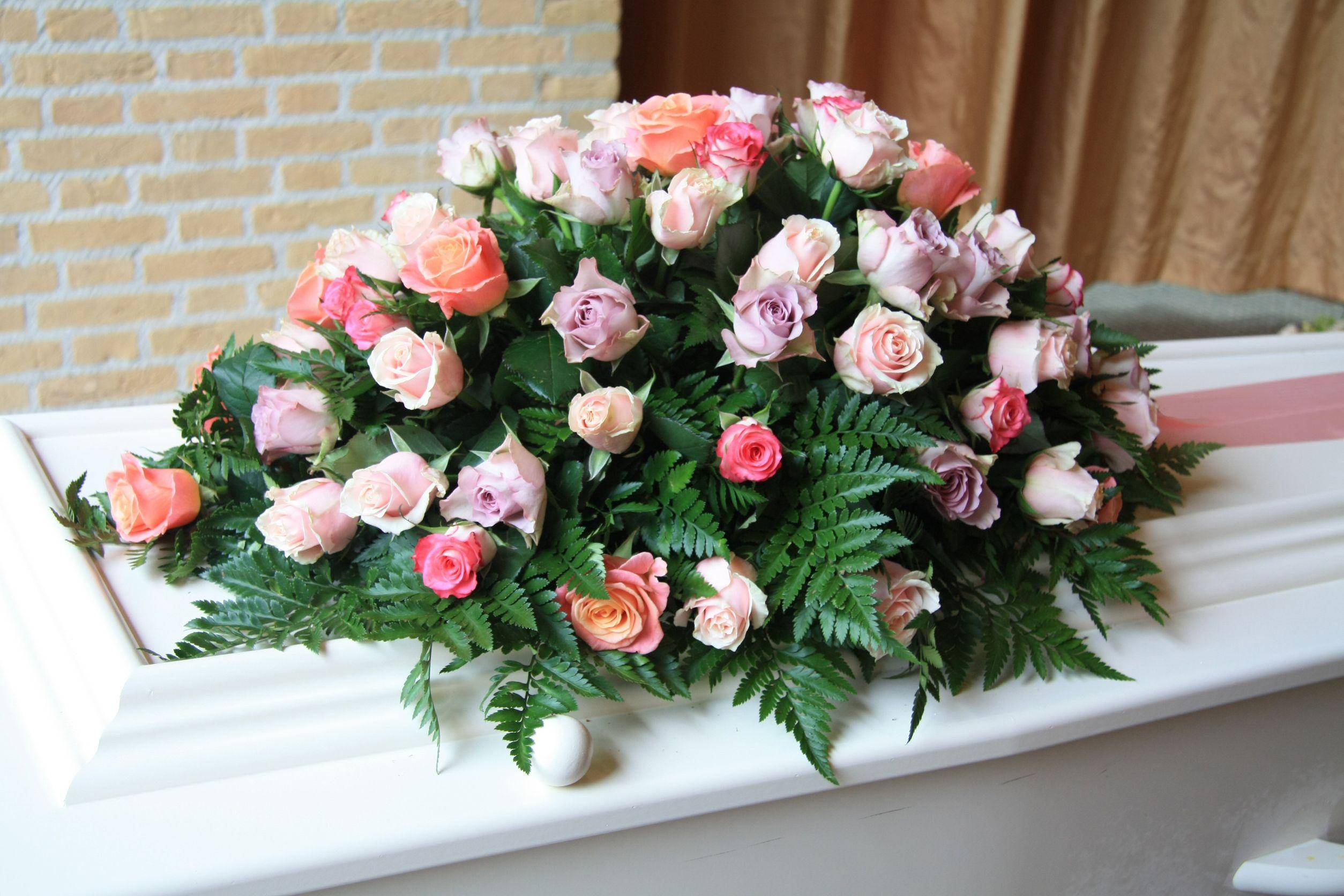 Casket Roses