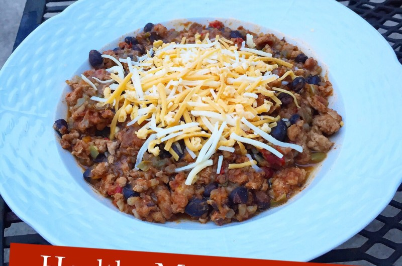 Healthy Mexican Chili