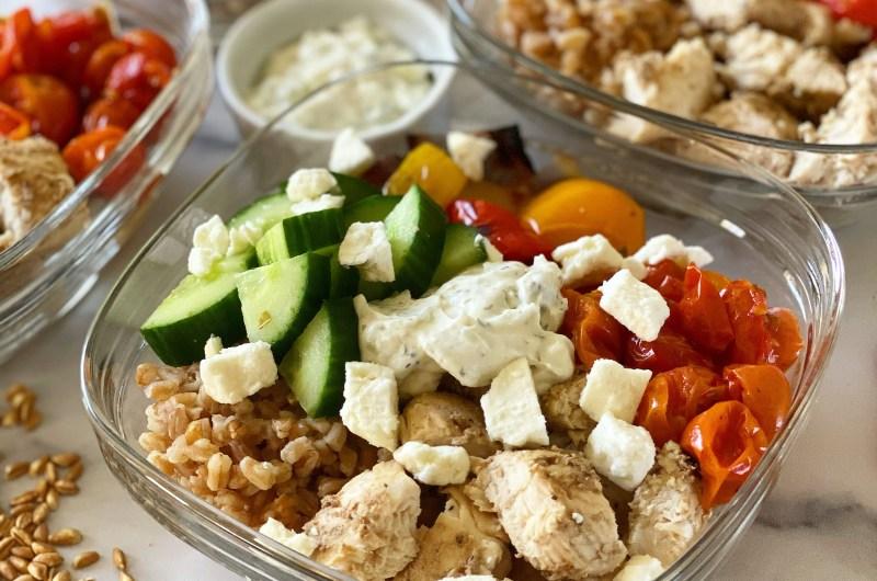 Mediterranean Chicken Meal Prep