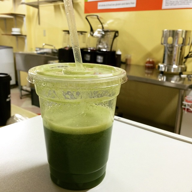 the juice cellar green