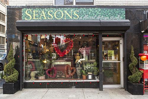 Seasons, A Floral Design Studio New York, NY PHOTO CREDIT: Kate Glicksberg