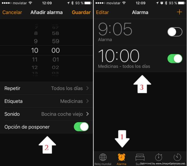 Alerta Medicinas en Apple