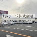 建物裏 スーパー営業中 2018.12撮影(周辺)