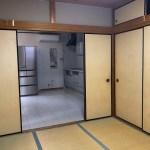 和室6帖・キッチン 1F(内装)