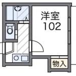 ※空は202号室です。(間取)