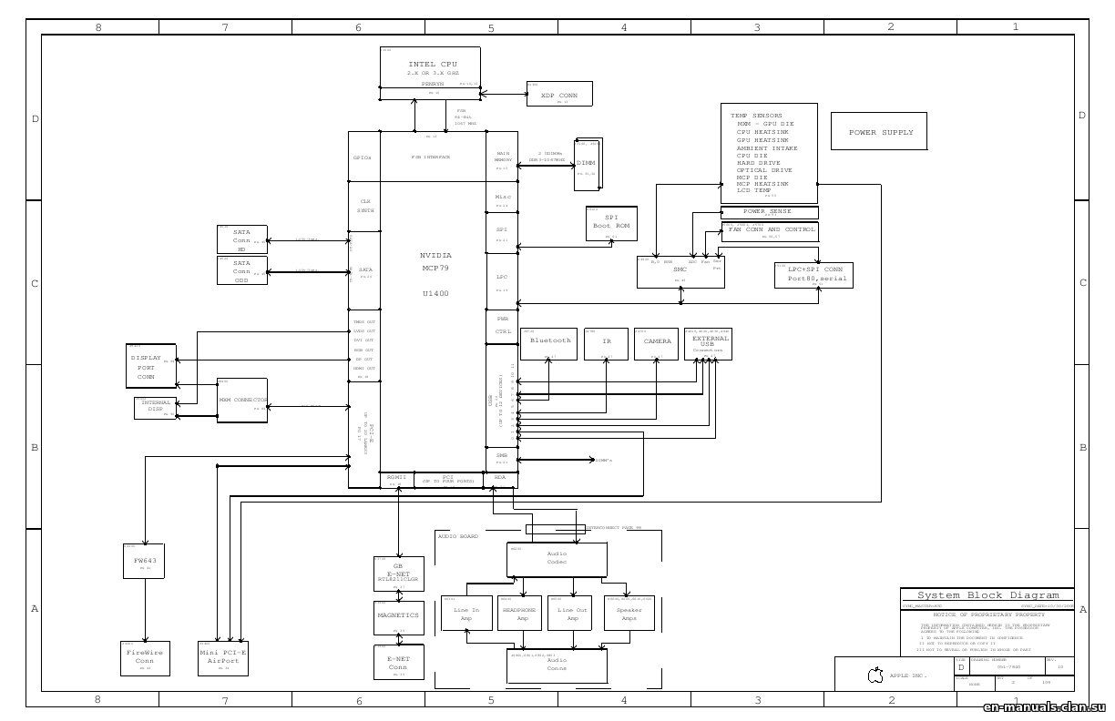 Schematics For Apple Imac 20 A In The Online Store