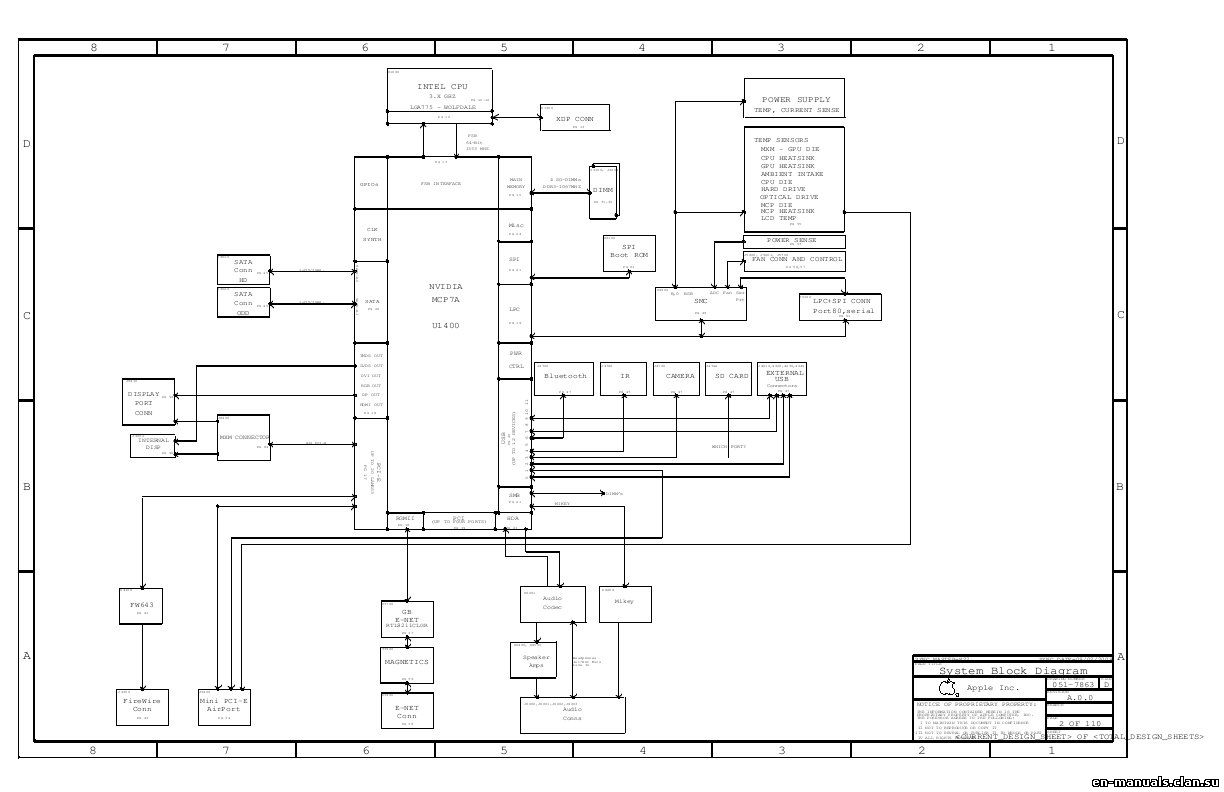 Schematics For Apple Imac 27 A In The Online Store At