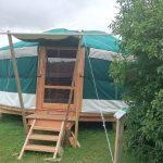 hébergement insolite, yourte tente en Lomagne