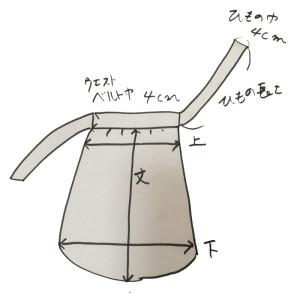 前掛け_説明イラスト