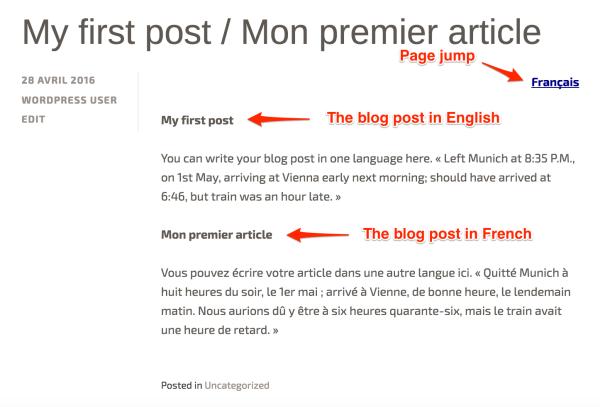 Set Up a Multilingual Site — Support — WordPress.com