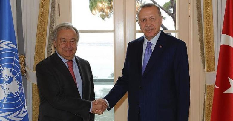 Photo of UN Secretary General and Erdogan discuss Libya among other issues
