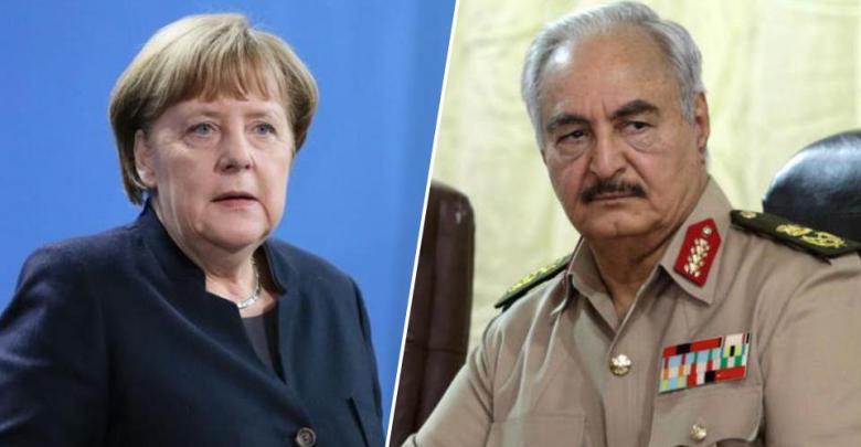 Photo of After Paris, Field Marshal Haftar arrives in Berlin to meet Merkel
