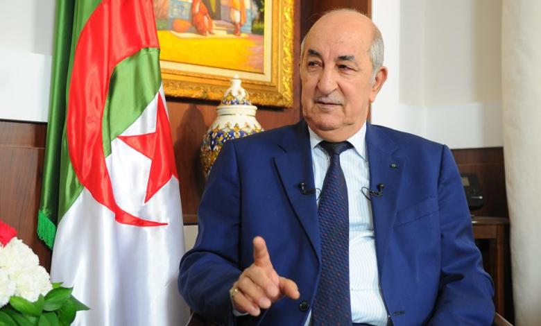 Photo of Algerian President says he's with everyone in Libya