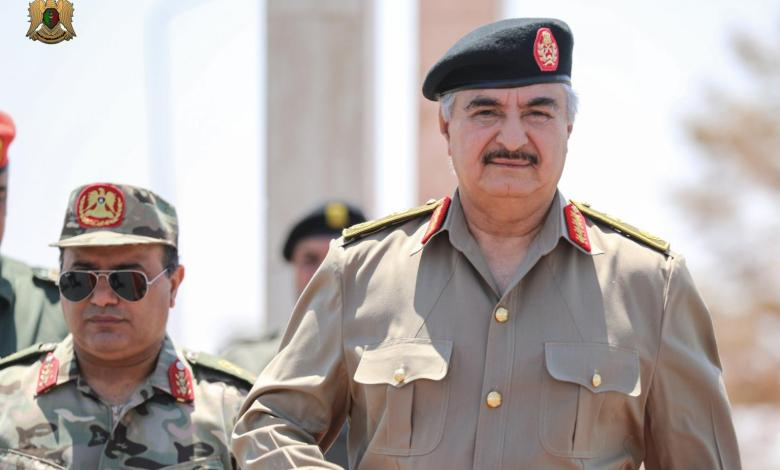 Photo of Haftar: We won't succumb to Turkish occupation