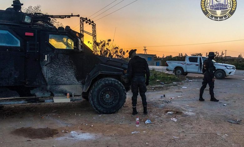 "Photo of Tripoli Protection Force says Muslim Brotherhood is a ""tumor"" harming Libya"
