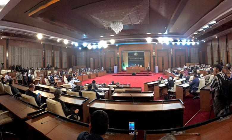Photo of Source to 218News: Delegation from Tripoli House of Representatives and High Council of State's members visits Egypt