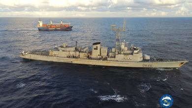 Photo of French frigate inspects Turkish vessel en route to Libya's Misurata