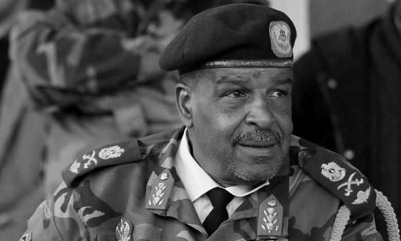 Photo of Commander of Libyan Saiqa Special Forces Wanis Bukhamada has died
