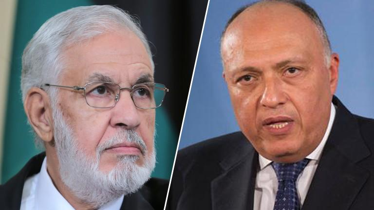 Photo of Shoukry, Sayala speak on the phone to support stability in Libya