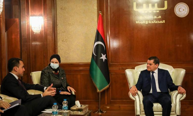 Photo of Dbeibah to Italian Foreign Minister: Immigration issue isn't exclusively Libyan