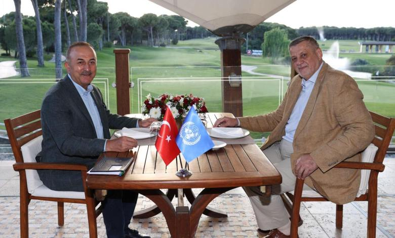 Photo of UN envoy, Turkey's Foreign Minister discuss latest developments in Libya