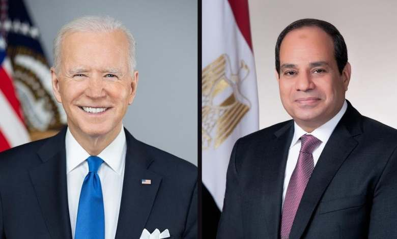 Photo of Biden, Al-Sisi reiterate need for Libya to hold elections in December