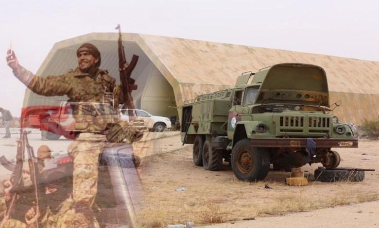 Photo of Ankara's mercenaries turn Al-Wattia base to migration and weapons' market