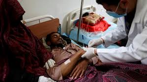Aden Receives 550 tons of Cholera Drugs