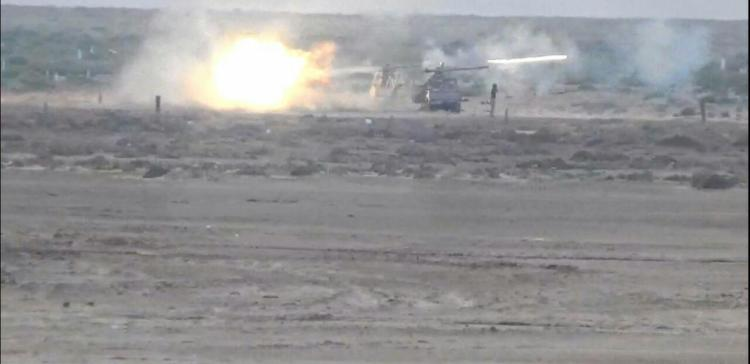 Airstrikes ,Intensive bombing on coup militias in Hajjah