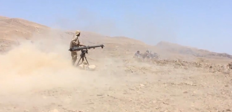 Coalition fighters bomb militia positions in AlJawf