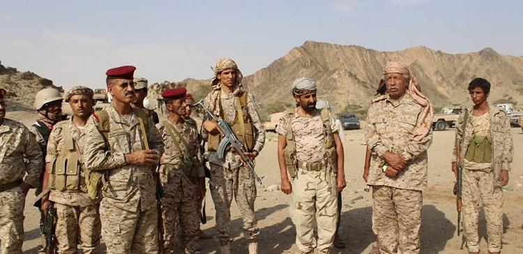 Chief of Staff inspects 117th, 26th Brigades in al-Bayda-Shabwa Axes
