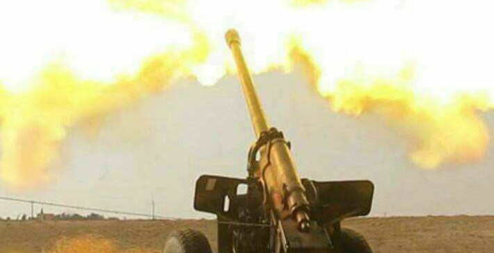 Army artillery hits hard militias positions in Serwah
