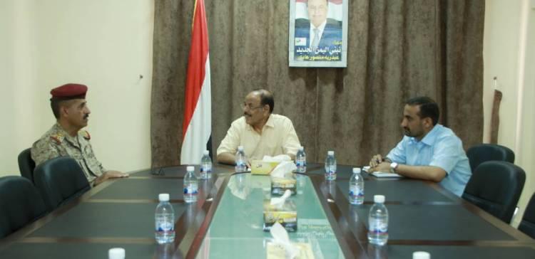 Vp, Chief of Staff discuss military developments